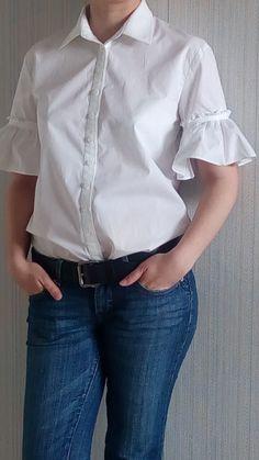 Белая блузка / LiudmilaBabkova / 03.06.2017 / Фотофорум BurdaStyle