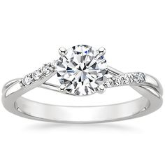 18K+White+Gold+Chamise+Diamond+Ring+from+Brilliant+Earth