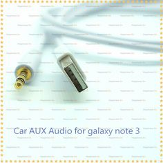 Find More Mobile Phone Cables Information about 3.5mm Car Aux Audio USB Sync Data Charger Cable For Samsung Galaxy note 3,High Quality cable protector,China cable socket Suppliers, Cheap charger data cable from Happiness go on Aliexpress.com
