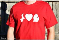 I Love Michigan Shirt by RoyalMajesTees on Etsy #valentine #ilovemichigan #michigan #apparel #shirts #upper #lower #peninsula #tshirt #state #home #love