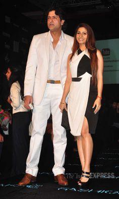 Armaan and Tanisha in Lakme Fashion Week 2014