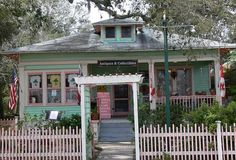 History rules in St. Augustine, Florida, but for houses in the trendy tourist areas, anything goes.