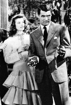 The Philadelphia Story (1940) Katharine Hepburn and Cary Grant