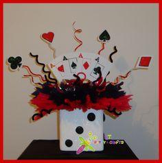 Casino theme centerpiece party: casino/ las vegas в 2019 г. Las Vegas Party, Vegas Theme, Casino Night Party, Casino Theme Parties, Night Parties, Vegas Casino, Fantasias Halloween, Poker Party, 50th Birthday Party