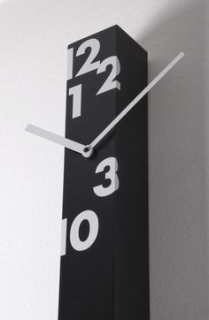 Iltempostringe Wall Clock Black