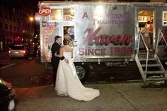 This wedding at Haven Brothers Diner. | The 24 Most Rhode Island Things To Ever Happen