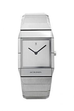 552 - Jacob Jensen Sapphire heren horloge