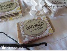 Jabón Exfoliante de Sándalo y Vainilla