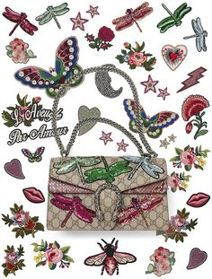 Gucci has launched a new DIY service so you can personalize your Dionysus handbag. Check out some of the customizations.