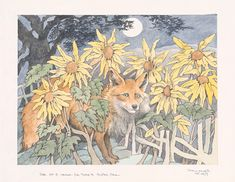 MAURICE SENDAK (1928–2012), THE EDGE OF THE FOREST, INTERLUDE BETWEEN ACT II, SCENES 2 AND 3, FOR PBS BROADCAST (THE CUNNING LITTLE VIXEN), 1983, WATERCOLOR AND GRAPHITE PENCIL ON PAPER. © THE MAURICE SENDAK FOUNDATION. THE MORGAN LIBRARY AND MUSEUM, BEQUEST OF MAURICE SENDAK, 2013.105:102. PHOTO: JANNY CHIU