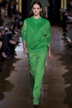 fresh + monochromatic from Stella McCartney #spring #fashion