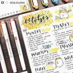 Bullet journal weekly spreads can be as simple or as complex as you want them to be. Let your creative side run free and be inspired by these weekly layouts