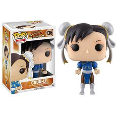 This is a Funko Street Fighter POP Chun-Li Vinyl Figure. Produced by the good folks over at Funko, it's great to see such a storied franchise come to life in POP Vinyl form. Chun-Li looks fantastic! T