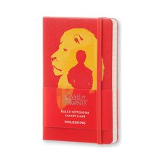 RED moleskine GAME of THRONES pocket RULED notebook COLLECTIBLE limited EDITION #Moleskine