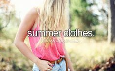 I love summer for this reason.