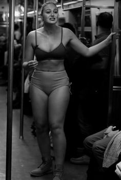 Watch Iskra Lawrence Strip Down on a Train to Deliver a Powerful PSA About Body Image