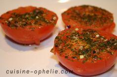 Tomates aux herbes minutes au micro ondes (recette minceur)