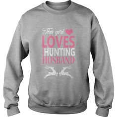 #Hunting This Girl Loves #Hunting with Her Husband Funny Tshirt for  men, women, kid, grandparent, Order HERE ==> https://www.sunfrog.com/Hobby/123824287-687312015.html?89701, Please tag & share with your friends who would love it, #superbowl #birthdaygifts #christmasgifts  hunting accessories, hunting cabin, bow hunting #chemistry #rottweiler #family #posters #kids #parenting #men #outdoors #photography #products #quotes