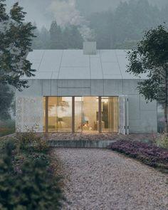 Traditional Belarusian Architecture Reinterpreted in a Modern Way