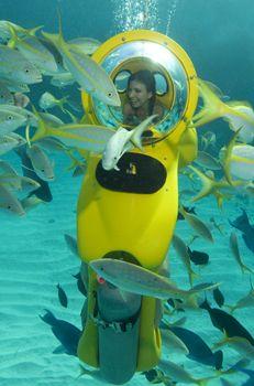 Stuart Cove's Sub Bahamas Adventure Stuart Cove Divers Bahamas Best Dive Trips.  Available in Nassau.