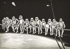 Lunch time at Death Star