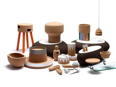 Cork products by portuguese designers made in partnership with Amorim