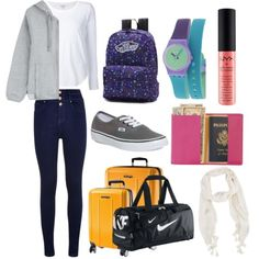 moving by isnaniarana on Polyvore featuring polyvore fashion style adidas Splendid Vans eBags Royce Leather NIKE Swatch Warehouse NYX