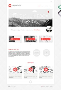 Homepage 15 Inspirational Examples of Minimal & Clean Web Design