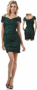 #1608eur --Exquisite Green mini prom dress, size xs to 2xl in 4 Colors