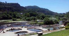 Piscinas naturales en a nuveira a pobra do carami al for Piscinas naturales ourense