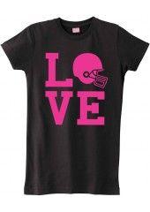 Loving this Love Football Shirt