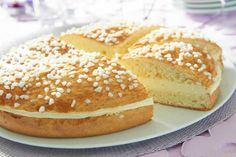 Tropezienne tart with thermomix. I propose you a tart recipe Tropezienn … - Recipes Easy & Healthy Dessert Thermomix, Thermomix Bread, Healthy Pumpkin Bread, Cooking Pumpkin, Easy Bread Recipes, Tart Recipes, Baking Bad, Bread Cake, Cooking Chef