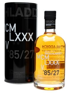The edition in Bruichladdich's DNA series, digging into the heart and soul of the distillery's character. This time it's from 1985 and has been aged for 27 years before cask selection and bottl. Scotch Whiskey, Bourbon Whiskey, Whiskey Bottle, Vodka Bottle, Dna, Single Malt Whisky, 27 Years Old, Distillery, Liquor