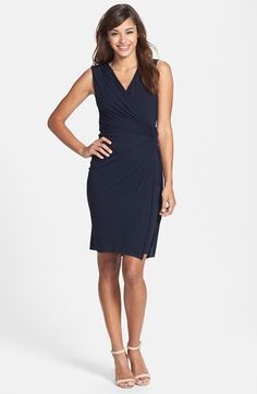 B44 Dressed by Bailey 44 'Drop Kick' Faux Wrap Jersey Dress available at #Nordstrom