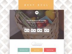 Foodly Landing Page