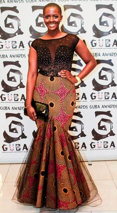 Philomena Kwao ¦¦ Guba Awards 2012 | Models1 Curve