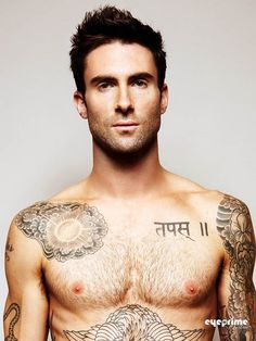 Adam Levine...probably should create a hot boys board for this one :)