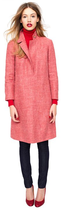 JCrew Holiday 2011 (is this a dress or a coat? either way, love.)
