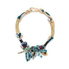 BISUTERÍA Collar flores azules AZUL PETRÓLEO 95 > 57 EUR | BIMBA Y LOLA ®