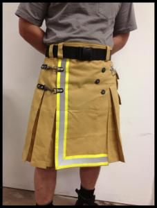 This is really cool and I'd like to know where this can be purchased? No link available. Also, there is a genuine Firefighter Tartan available in kilts from Sport Kilt that is gorgeous. My guy wears the firefighter tartan/kilts to toss the caber/compl Firefighter Crafts, Firefighter Gear, Volunteer Firefighter, Fire Dept, Fire Department, Great Kilt, Sport Kilt, Caber, Tartan Kilt