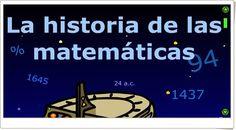 """""""La historia de las Matemáticas"""" (""""Internet en el Aula"""") es una aplicación que muestra de forma animada e interactiva la evolución histórica de las Matemáticas . El profesor Frank Einstein y sus amigos viajan al pasado para descubrir dicha historia. Muy interesante actividad."""
