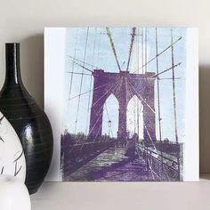 quadro decorativo brookling bridge