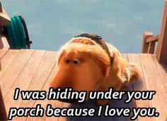 My FAVORITE part of Up :)