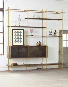 The Collector's Shelving System by Amuneal
