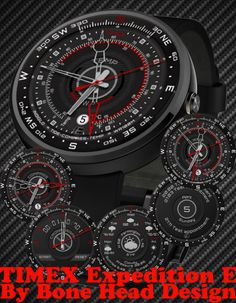 TMX Expedition E watch face preview