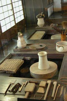 kawai kanjiro japanese pottery wheel