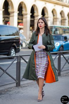 Paris Fashion Week FW 2015 Street Style: Natasha Goldenberg