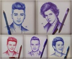 Movie Friday: 10 Fan Illustrations to Commemorate One Direction's This Is Us #illustration #onedirection #celebrate