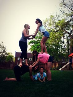 Amazing stunt to do with friends <3 ~ did it and it was so much fun.