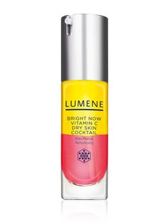 Too much for every day but a great pick-me-up for dry skin treatment. Smells yummy, too! (Lumene Bright Now Vitamin C Dry Skin Cocktail) Dry Skin On Face, Face Skin Care, Now Vitamins, Dry Flaky Skin, Facial Oil, Face Serum, Skin Treatments, Good Skin, Healthy Skin